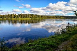 Finnish lake.