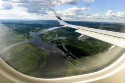 Before the landing - Rovaniemi.