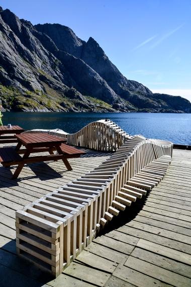 Nussfjord - Art in nature.