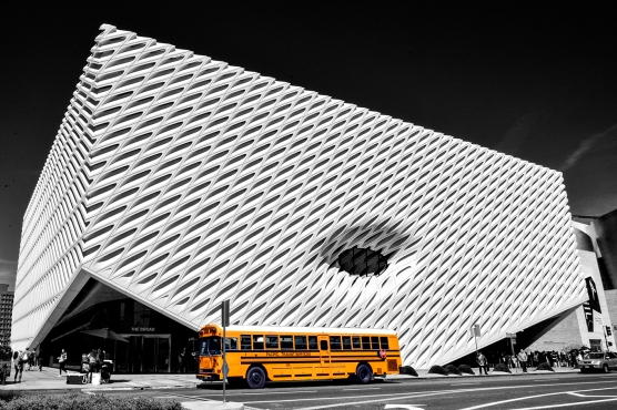 The Broad - Contemporary Art Museum (2015).